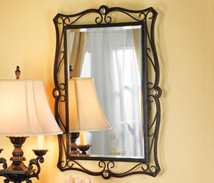Wrought Iron Wall Mirrors Decorative Pleasing Wall Mirrors Decorative Wall Mirrors Metal Wall
