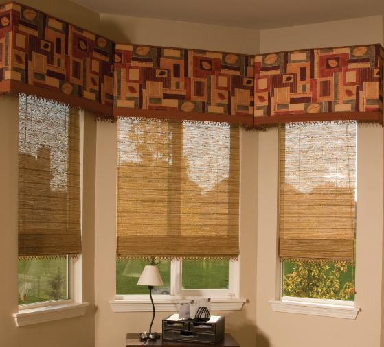 Natural roman shades 2017 grasscloth wallpaper for Natural woven flat fold shades